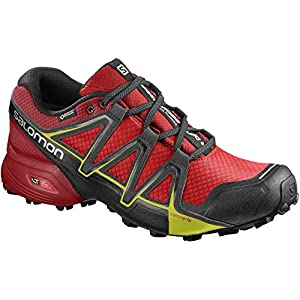 Salomon Speedcross Vario 2 Gtx, Herren Traillaufschuhe, Rot (Fiery Red/Barbados Cherry/Magnet), 8 UK, 42 EU