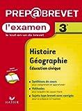 Prépabrevet, l'examen : Histoire-Géographie, 3e