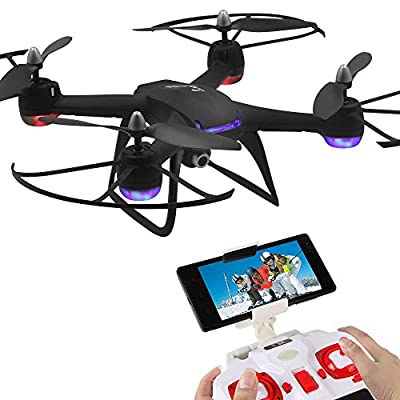 Mattheytoys DM009 2.4GHz 6-Axis gyro WIFI FPV Real-time HD Camera Headless Mode,One Key Return RC Quadcopter