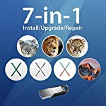 7-in-1 Mac OS X Installer - Sierra El Capitan Yosemite Mavericks Mountain Lion Lion Snow Leopard on Bootable USB Disk. Instructions included.