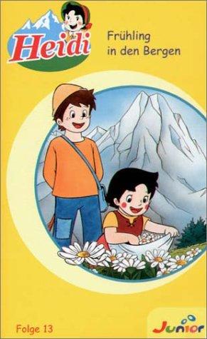 Heidi - Folge 13: Frühling in den Bergen [VHS]