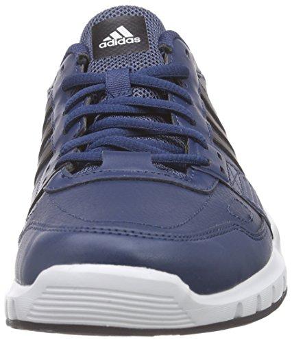 adidas Herren Essential Star .2 Laufschuhe Multicolore (Azul / Negro / Verde (Azumin / Negbas / Eqtver))