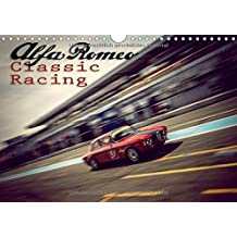 Alfa Romeo Classic Racing (Wandkalender 2018 DIN A4 quer): Klassische Alfa Romeo im Renngeschehen. (Monatskalender, 14 Seiten ) (CALVENDO Mobilitaet)