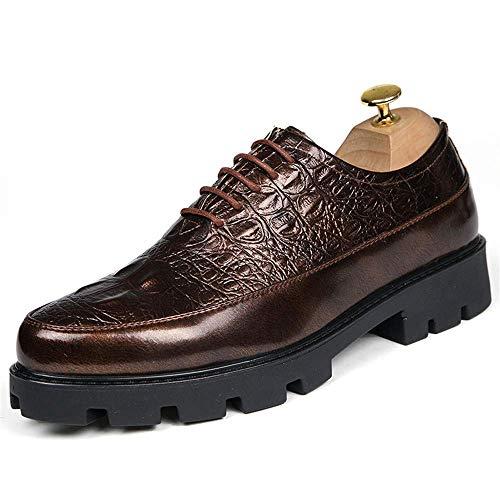 HhGold Zapatos de tacón Alto de 6.08 Zapatos de Oxford de tacón Alto de  2018 para 8128c53c8a9c0