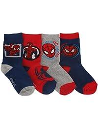 Spiderman - Spiderman - Chaussettes Bébé Garçon x4