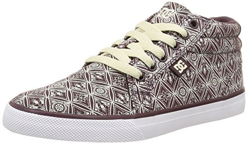 Dc Shoes - Council Mid Sp, Sneakers da donna, viola (wine), 38