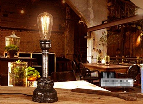 vintage edison bulb table lamp