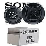 Audi A4 B5 - Sony XS-FB1330-13cm 3-Wege Koax-System - Einbauset