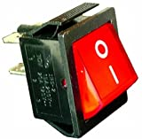 Vs Electronic 300013 Rocker Switch, 201 1 A3 2-Pin (Pack of 1