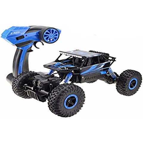 toxtech Rock Crawler Rc Off Road vehículo 2,4gHz mando a distancia 4x 4conducir rápido coche de carreras de alta velocidad Buggy hierba arena