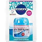 Ecozone Forever Flush 2000 - Toilet Cleaner and Freshener - Last for up to 2000 Flushes - Helps to Prevent Stains...