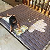 YACAOS Bright Baby Game Pad Für Kinder 2 cm Dicke rutschfeste Matte Abnehmbarer Waschbarer Teppich Set Kinder 140X195cm3