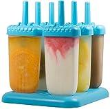 HelpCuisine® EIS am Stiel Bereiter, für Kinder, 6 Stück (Blau)