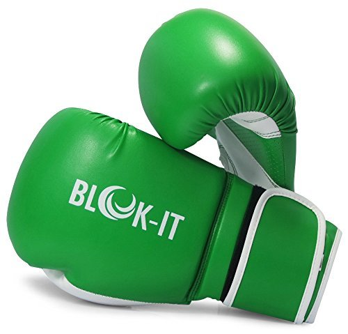 boxing-gloves-by-blok-it-pro-boxing-gloves-with-the-easy-on-easy-off-velcro-strap-green-16oz