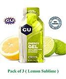 GU Energy Gel Lemon Sublime Flavour Pack...