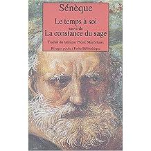 """La Constance du sage, suivi de """"De la retraite"""""""