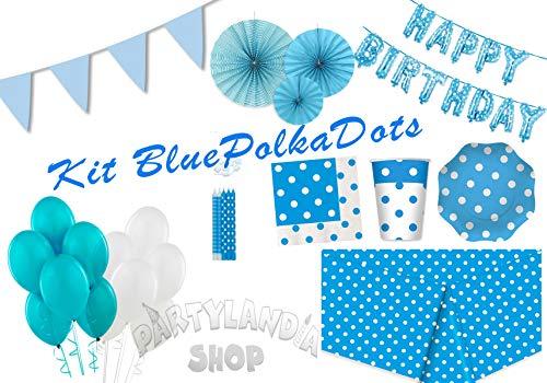 upfen-Geburtstags-Party-Kit für 20 Personen, inklusive Dekorationen und Motivdekorationen-116 Stck ()