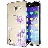 Samsung Galaxy A5 2016 Coque Protection de NICA, Housse Motif Silicone Portable Premium Case Cover Transparente, Ultra-Fine Souple Gel Slim Bumper Etui pour A5-16, Designs:Dandelion Pink Rose
