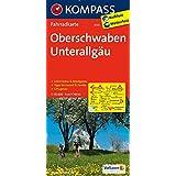 Oberschwaben - Unterallgäu (KOMPASS-Fahrradkarten Deutschland, Band 3123)