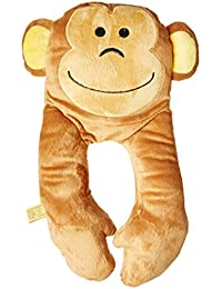 Go Travel - Monkey Pillow (Assorted Colours)