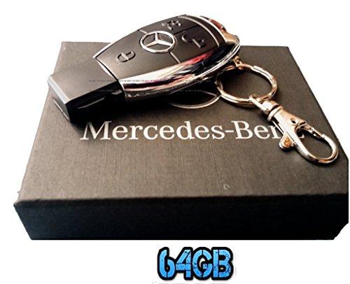 Sport auto di lusso 64gb telecomando chiave usb flash drive/pen drive/udisk. venduto in confezione regalo