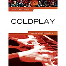 Really Easy Piano Coldplay 2014 Update Easy Pf Book