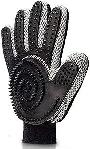 قفاز تنظيف لليد اليمنى من خمسة اصابع لمنع تساقط الشعر مع اكثر من 300 طرف من السيليكون للتنظيف، لا مزيد من الفر