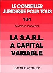 La S.A.R.L. à capital variable, numéro 104, 1ère édition