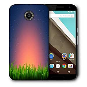 Snoogg Night At Garden Printed Protective Phone Back Case Cover For LG Google Nexus 6