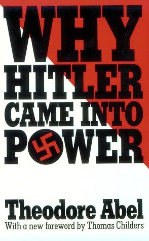 Produktbild Why Hitler Came into Power