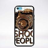 Générique Coque i Shoot People Compatible iphone 5c Bord Noir