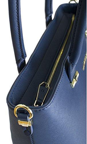 Trussardi Jeans 75B487XX Sac Shopper Femme blue