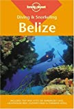 Front cover for the book Lonely Planet Diving & Snorkeling Belize by Mark Webster