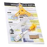 DIY Car Wind Shield Reparación de Vidrio Kit de Vidrio Reparación de Parabrisas de Vidrio Herramientas de Vidrio Mezclado