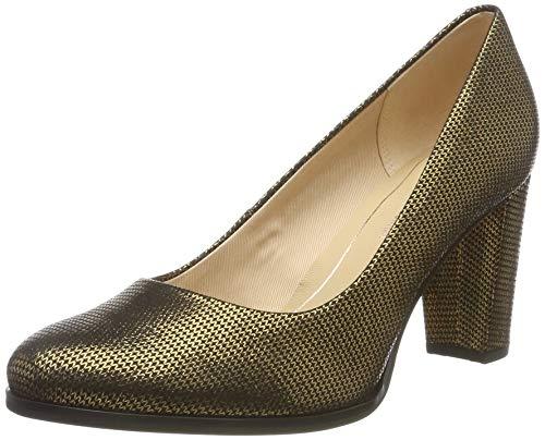 Clarks Kaylin Cara, Zapatos de Tacón para Mujer, Plateado Bronze Metallic, 40 EU