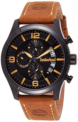 Timberland Reloj Multiesfera para Hombre de Cuarzo con Correa en Cuero TBL15633JSB.02