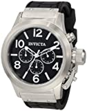 INVICTA CORDUBA MEN'S 48MM CHRONOGRAPH POLYURETHANE MINERAL GLASS WATCH 1140