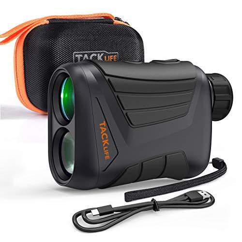 TACKLIFE Télémètre Golf 800m, Télescope Monoculaire 900yd, Grossissement 7x24mm, Précision de...