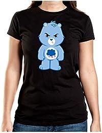 Angry Bear T-Shirt Girls Black Certified Freak