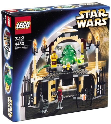 LEGO Star Wars 4480 - Jabbas Palast