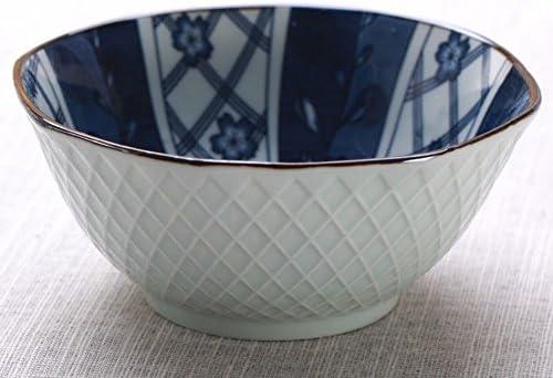 STTS Set Di Posate da da da Cucina in Ceramica Giapponese 10 Ciotola Di Riso Ciotola da 5 Pollici,F,12.7cm | economia  | Elegante e solenne  ac8735