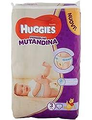 Huggies Pannolino Mutandina, Taglia 3 (6-11 Kg), 1 Pacco da 44 Pezzi