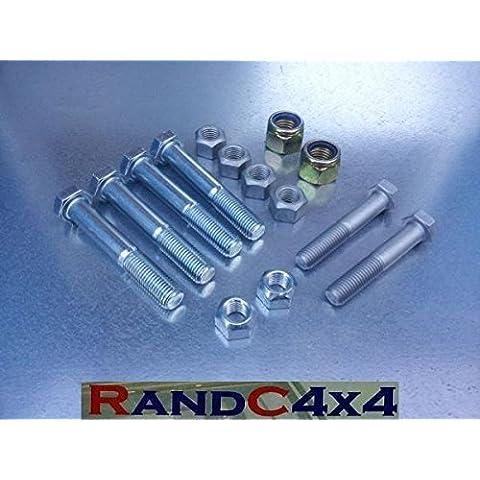 DA7200 Range Rover Classica Anteriore Braccio Radiale Completo Bullone E Dado Set 200 300 Tdi V8