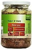 Burk's Rind Pur Bio Hunde und Katzenfutter, 6er Pack (6 x 320 g)