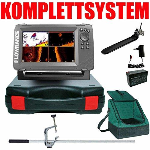Lowrance GPS Echolot Portabel Master Edition Plus Hook2 7X TripleShot Chirp GPS Lowrance-karten