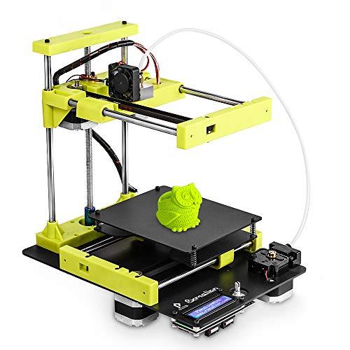 Pxmalion Mini Desktop 3D Drucker, Cantilever-Design, Beheizte bett, Auto-Level, Sensor für Filament-RunOut-Erkennung, Einfache Montage, 40g PLA-Filament -
