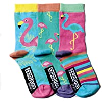 United Oddsocks - oddsocks 3 colorati per le ragazze -