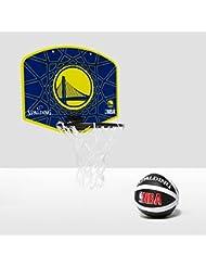 Spalding Golden State Warriors - Tablero de pared de baloncesto, color azul