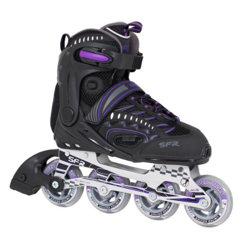 sfr-rx23-2-womens-fitness-inline-skates-black-purple-new-2013-model-adult-uk-9