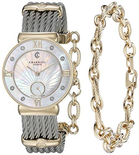 charriol-st-tropez-donna-madre-di-pearl-diamante-quadrante-due-tono-st30yd560009